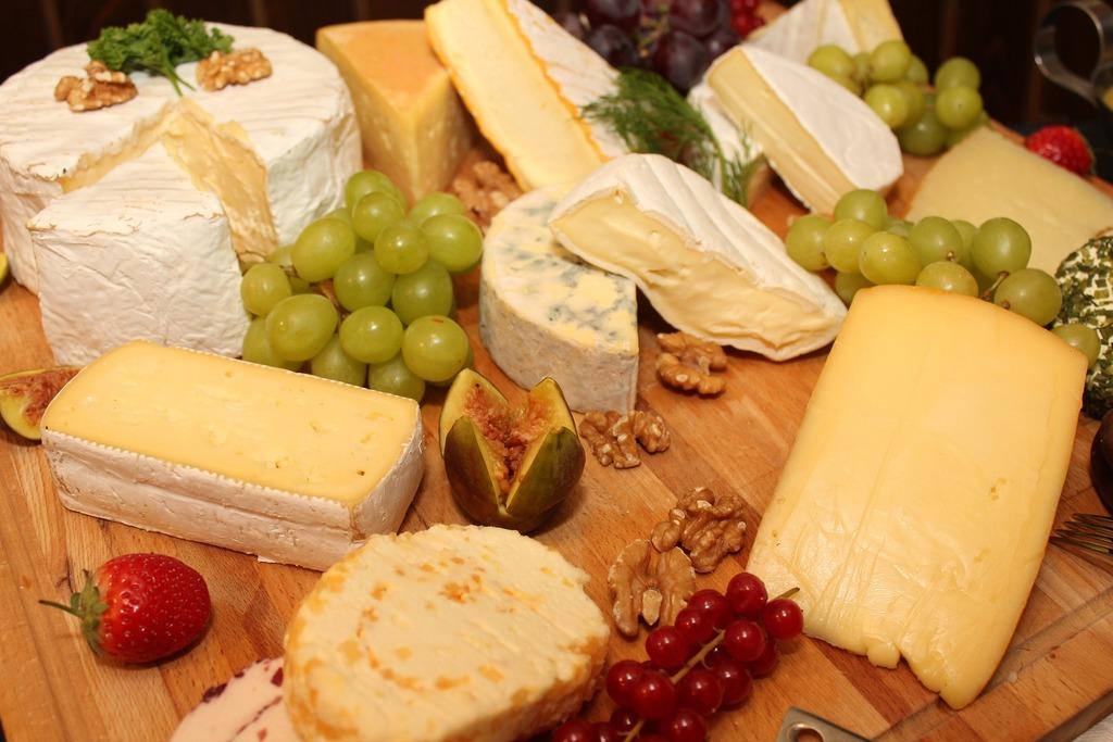 verschiedene Sorten von Käse