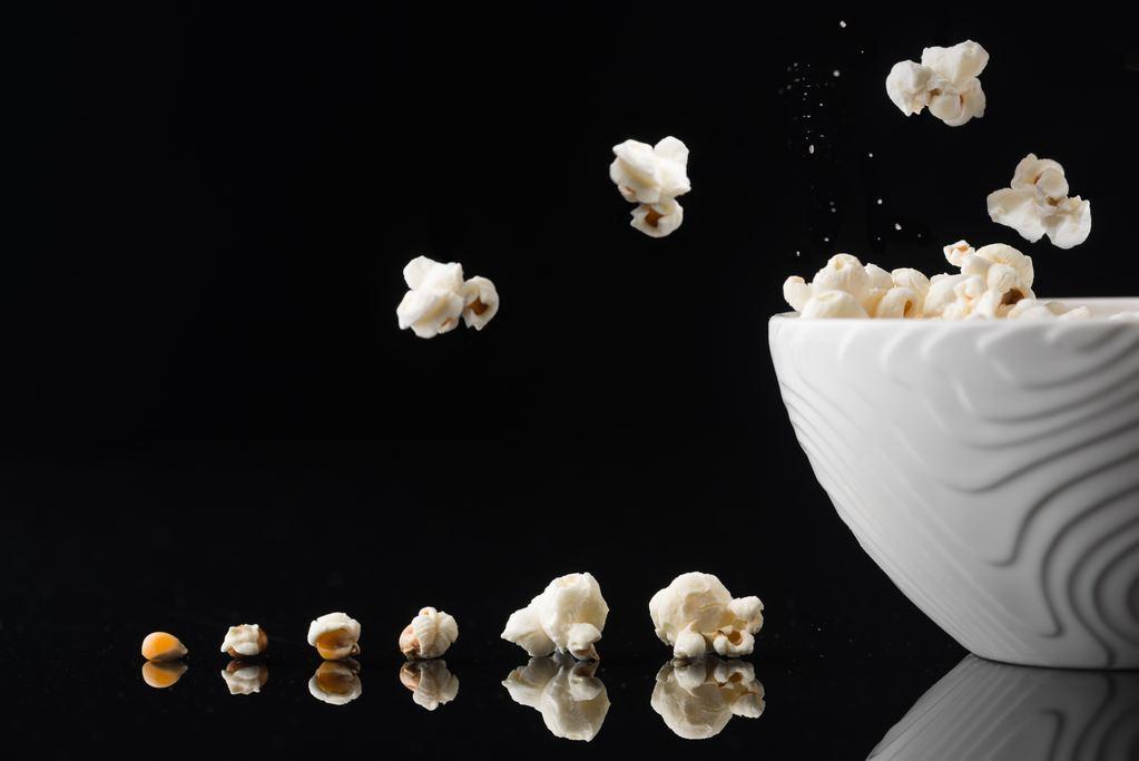 von mais zu popcorn phasen