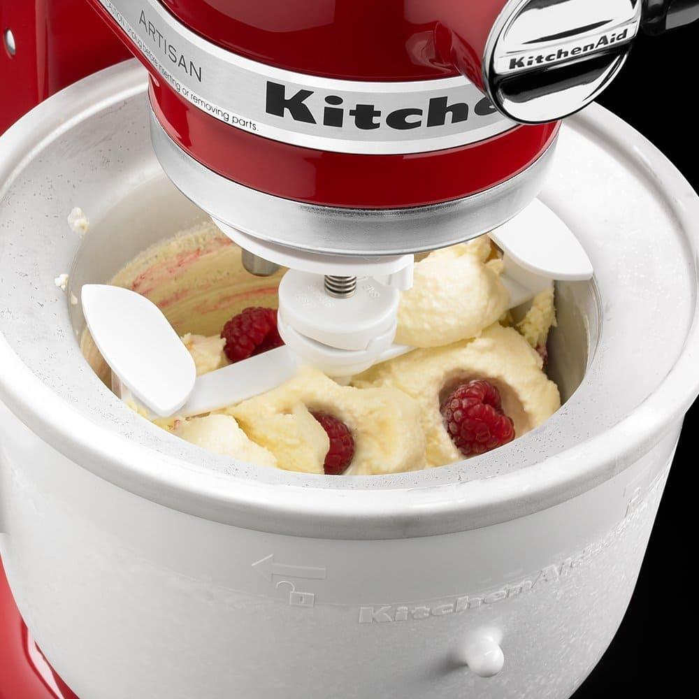 kitchenaid eis creme maker aufsatz